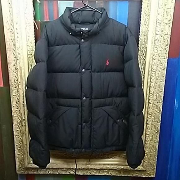 Ralph Lauren Polo Elmwood Mens Quilted Down Jacket